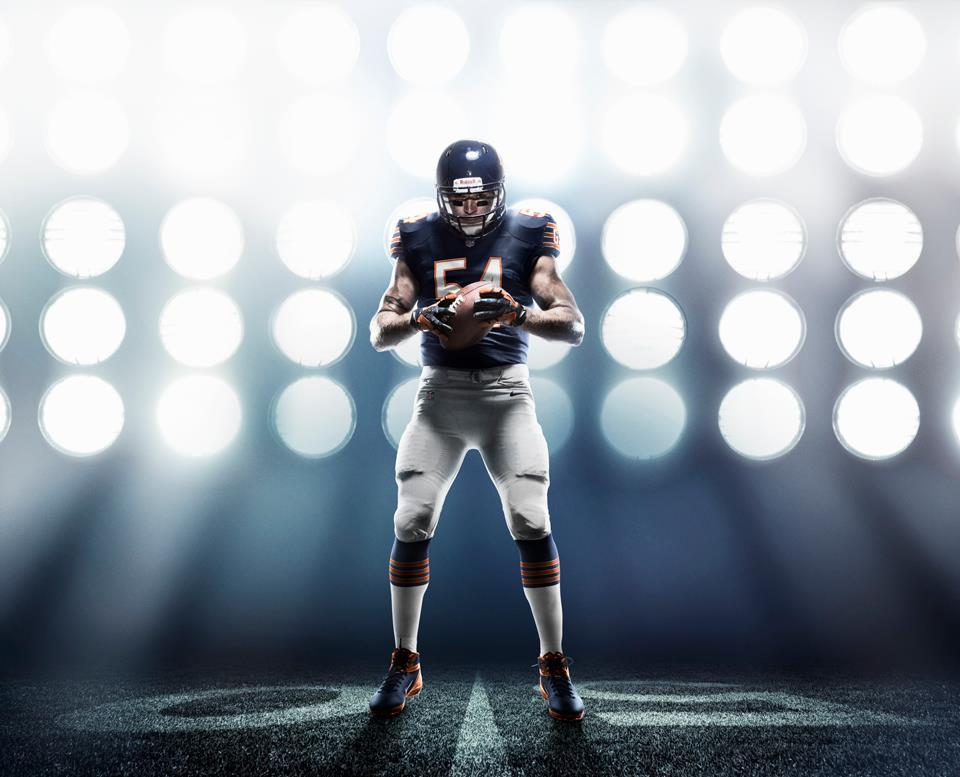 Chicago Bears: 2012 Nike Elite 51 Uniform