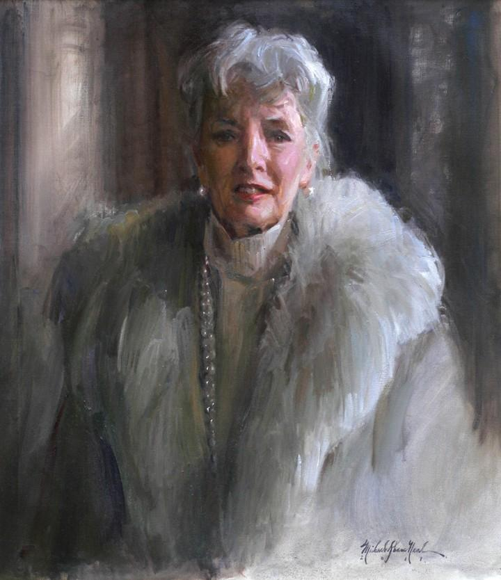 Women Portraits by Michael Shane Neal - The Studio of Portrait Artist Michael Shane Neal - Original portrait paintings by Michael Shane Neal.