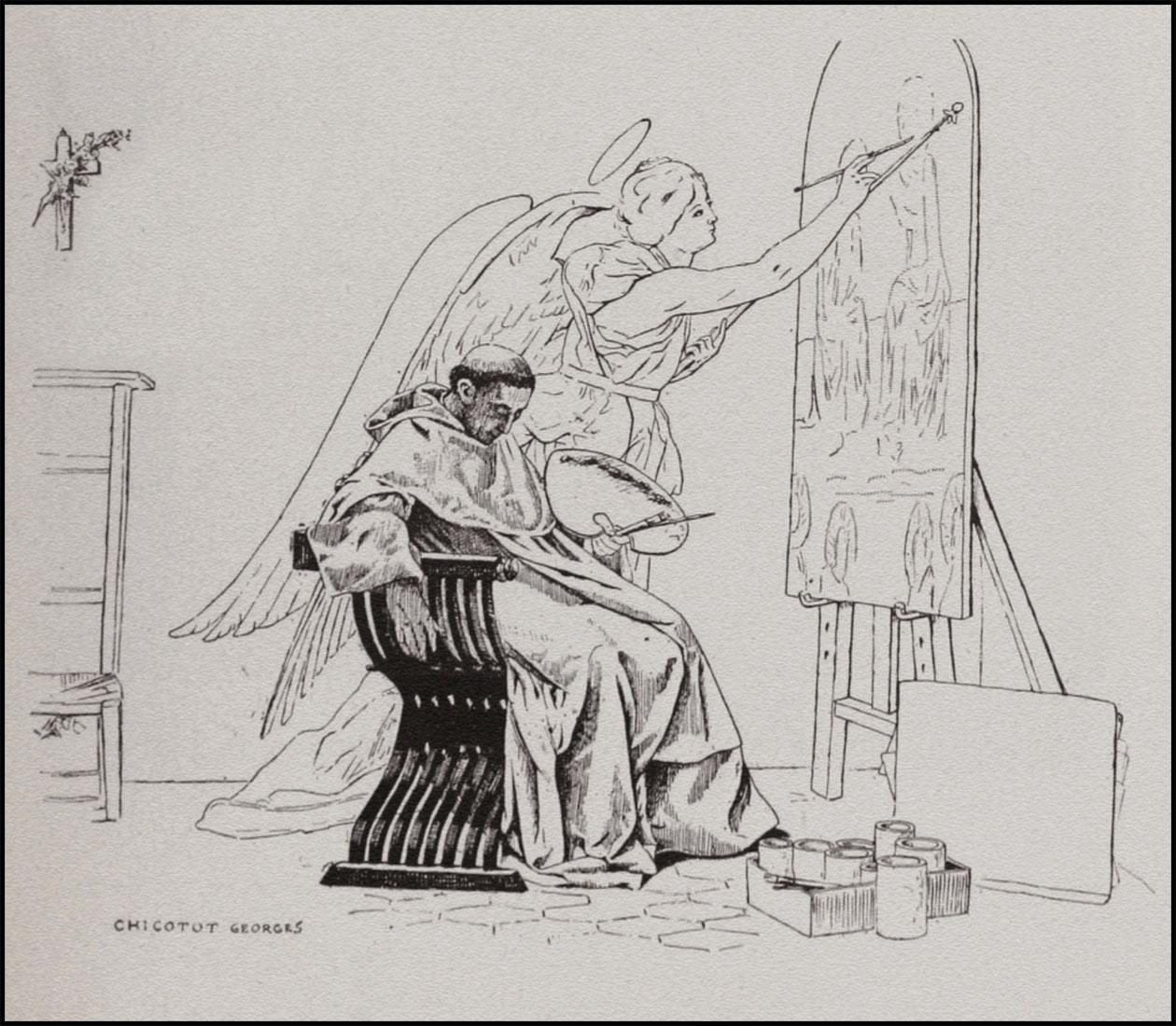 GeorgesChicotot_FraAngelica_1898.jpg (1260×1100)