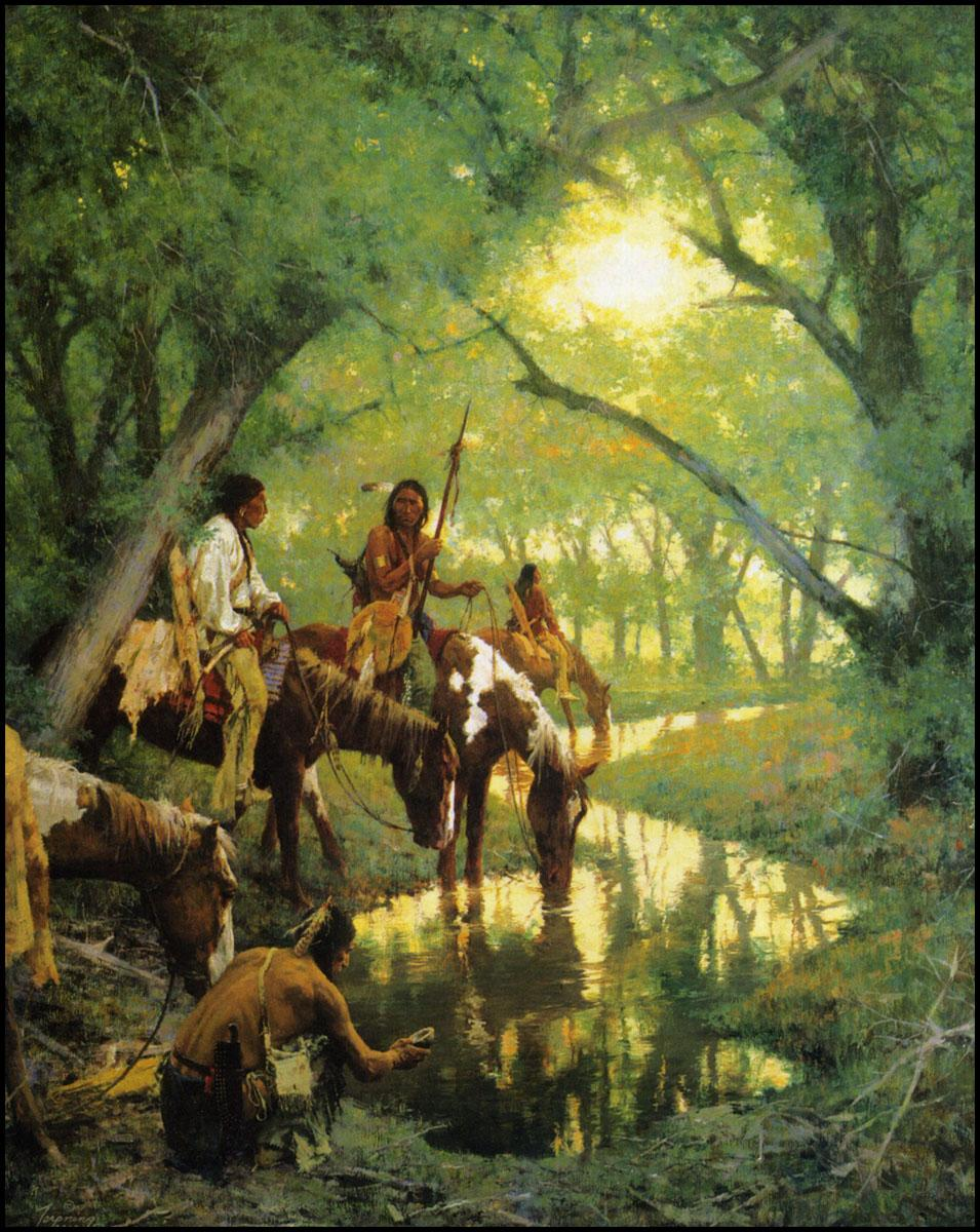 HowardTerpning_CheyenneAtDisappearingCreek_ca2000_100.jpg (955×1200)