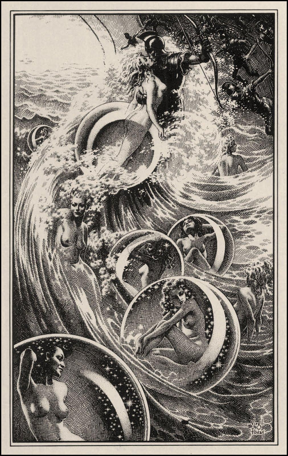 VirgilFinlay_TheShipOfIshtar_1949_100.jpg (1012×1600)
