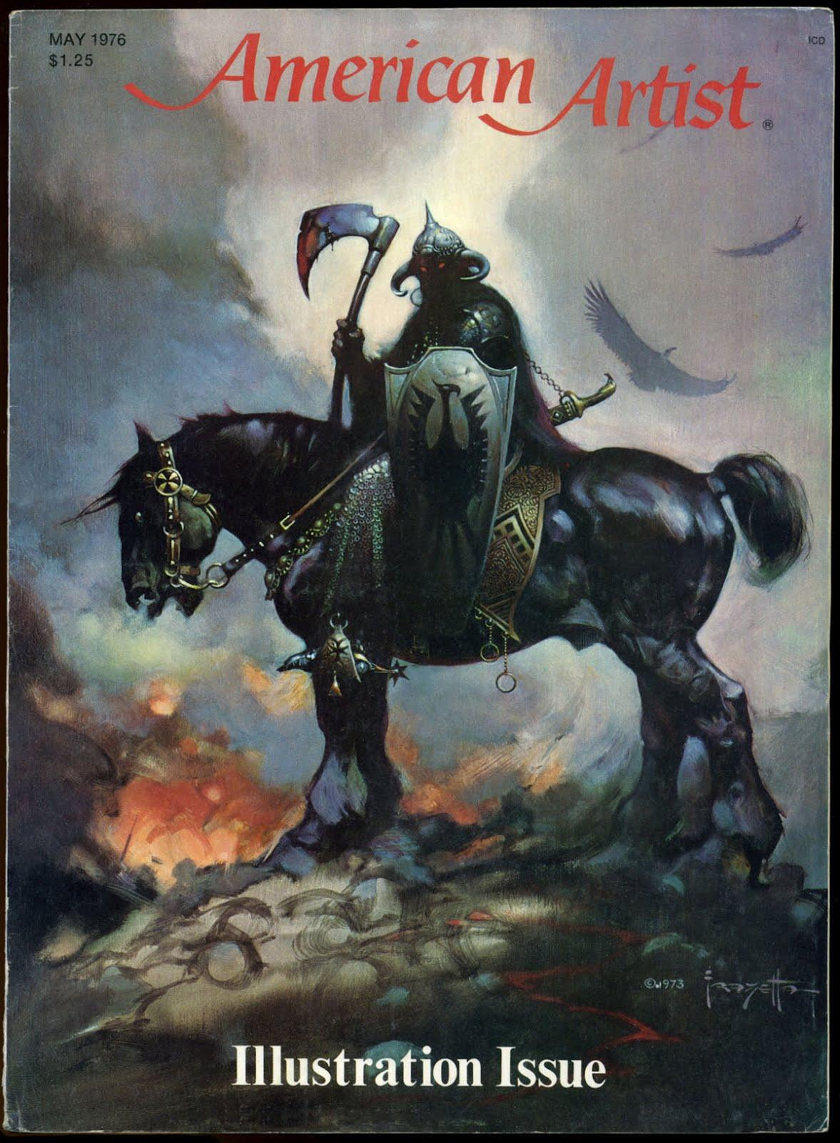 Frazetta_AmericanArtist_May1976_100.jpg (1177×1600)