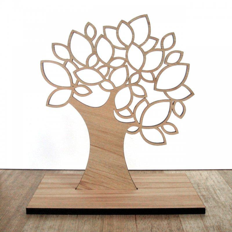 The laser-cut jewellery tree | Young Republic