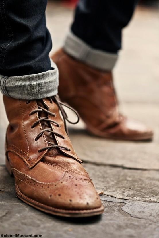 menswear / Those boots.