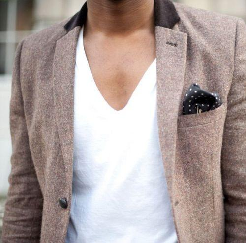 How men should be dressed. / #jacket #vneck