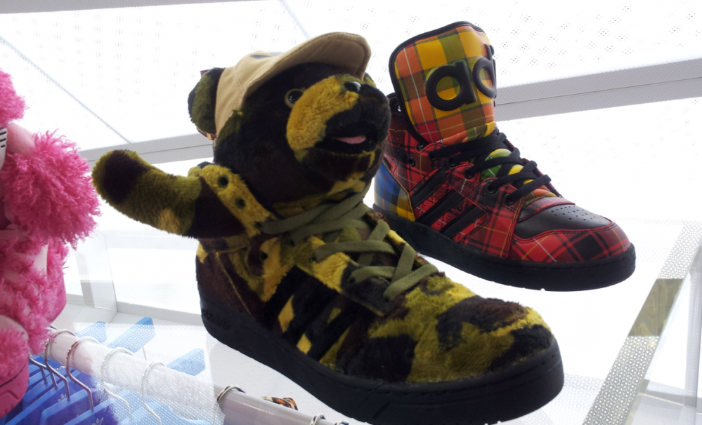 Adidas 2013 Jeremy Scott Preview @ BREAD & BUTTER BERLIN ! « WRONGWROKS BLOG
