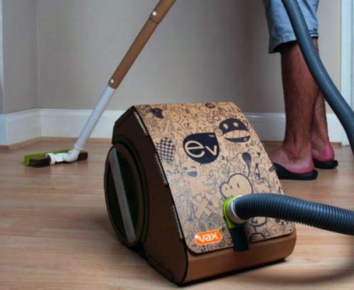 Eco awesomeness: The cardboard vacuum cleaner | TG Daily