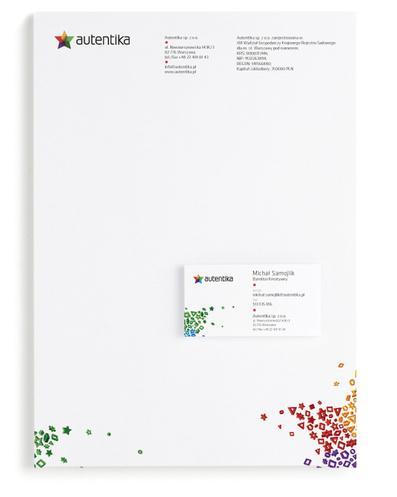 Autentika Corporate Identity sur le réseau