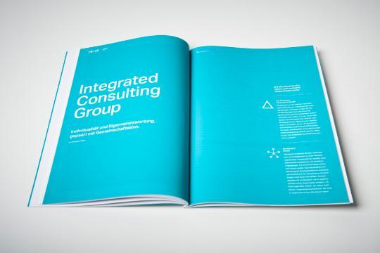 ICG - image de marque sur le réseau