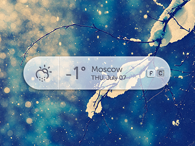 Weather + PSD by Andrey Maxim