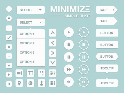 Minimize UI Kit by Alessio Atzeni