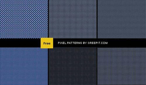 450+ Free Repeatable Pixel Patterns For Photoshop(.PAT) | Design Inspiration