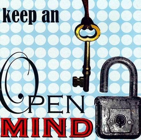 Keep an Open Mind - Wall Art