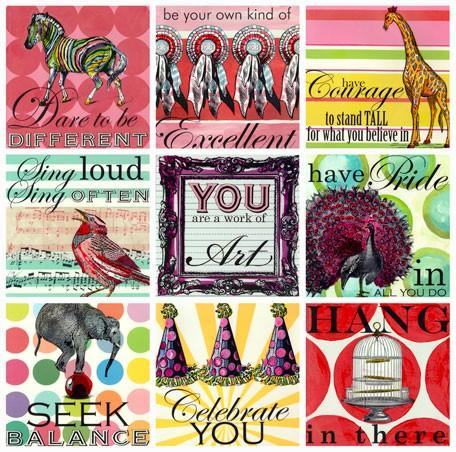 Sweet Sayings - Girl - Wall Art