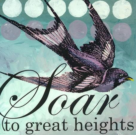 Soar to Great Heights - Wall Art