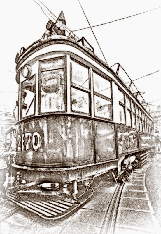 Photo Old tram - digital camera Canon EOS 5D - photos - PhotoForum.ru