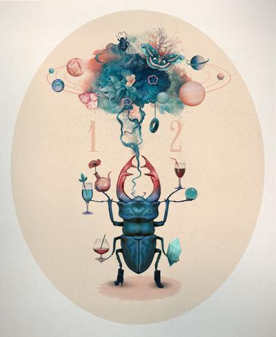 funny beetle Art Print by Tk_tk | Society6