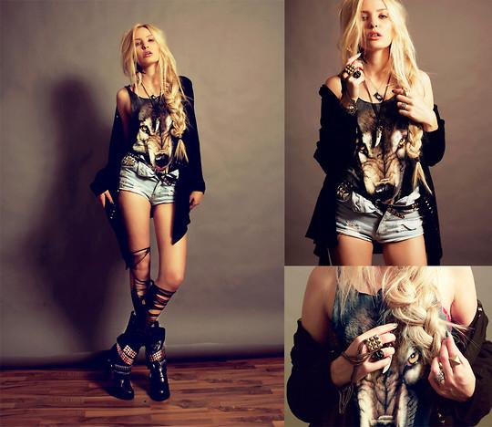 Lina Tesch // LOOKBOOK.nu
