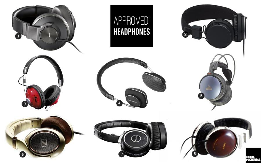 Approved: Headphones | Cool Material