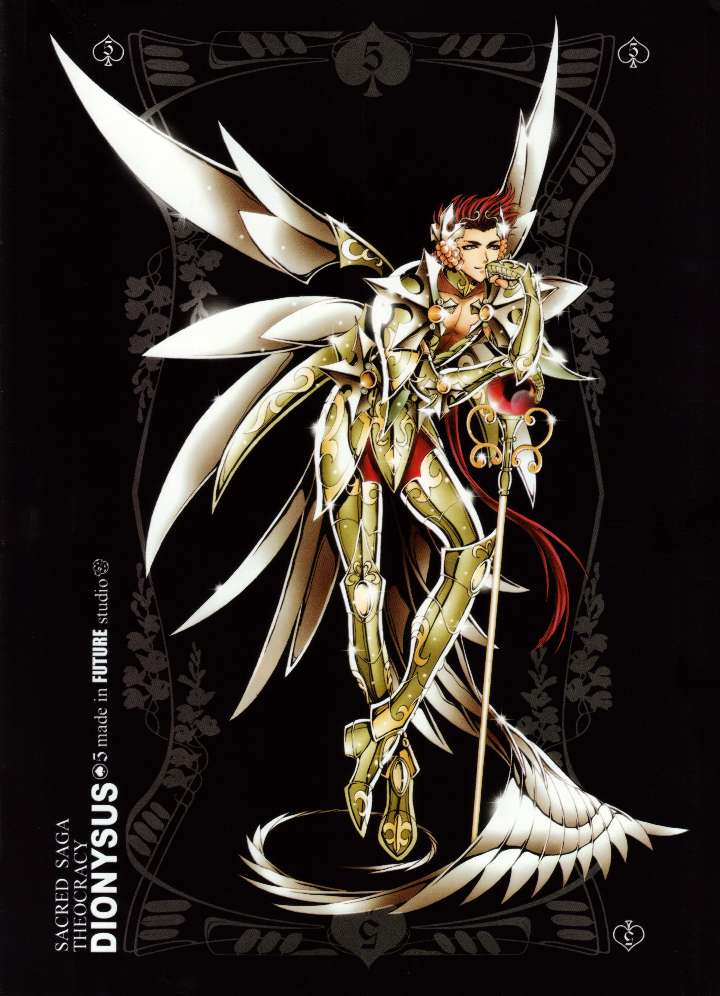 Download Saint Seiya: Future Studio ~ Dionysus God of Wine (2525x3493) - Minitokyo