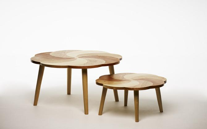 Put A Spin On It Table - Designer Lisa Hilland