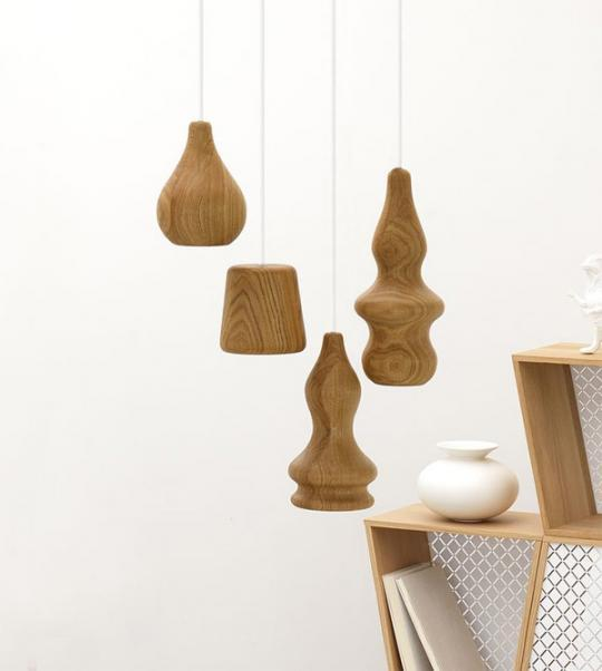 Wood Pendant Lamp by Fermetti - Blub | Captivatist