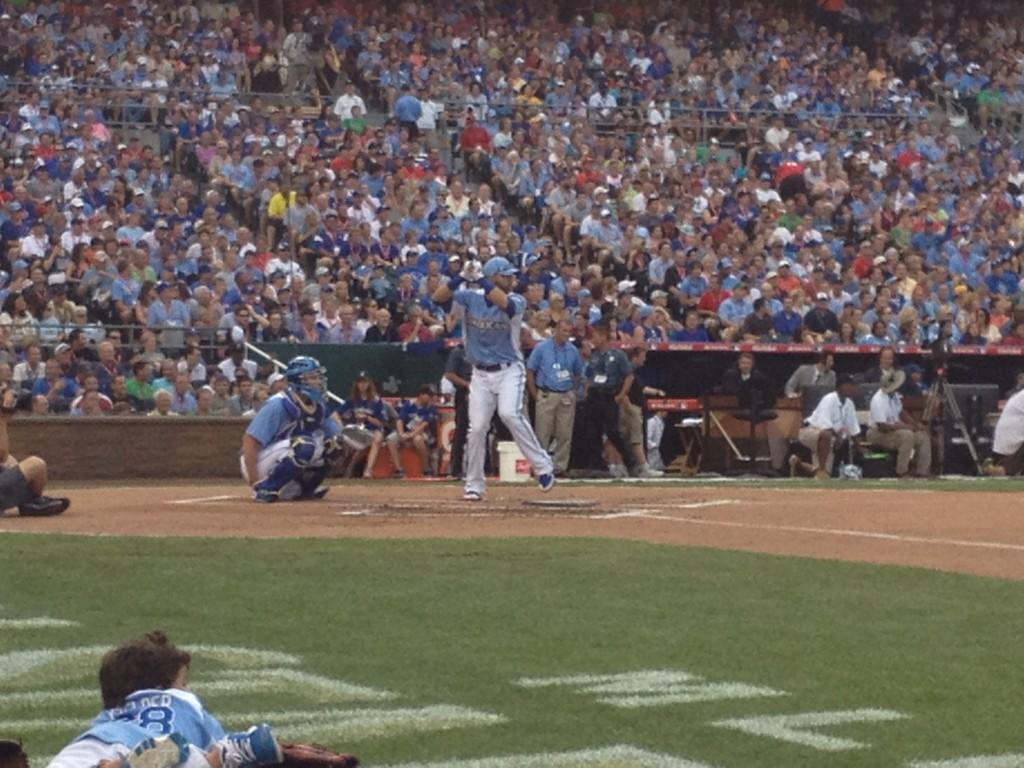 Twitter / SimplyAJ10: Bautista is LAUNCHING BALL