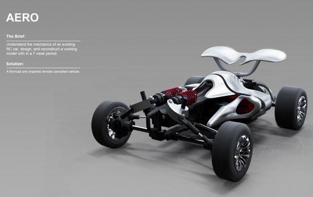 Aero RC Car Concept by James Cha | Tuvie