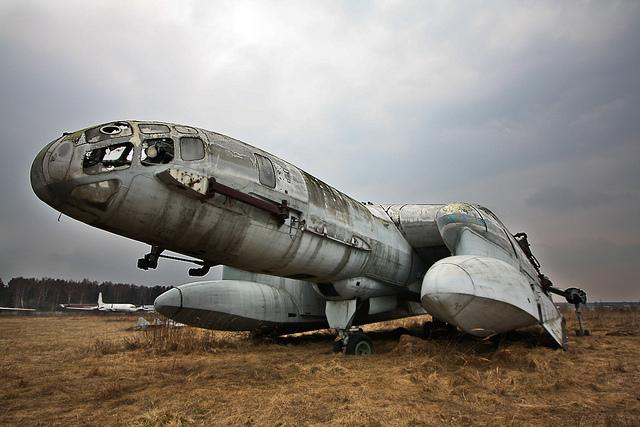 VVA-14 Military avation graveyard ( Russia ) | Flickr - Photo Sharing!