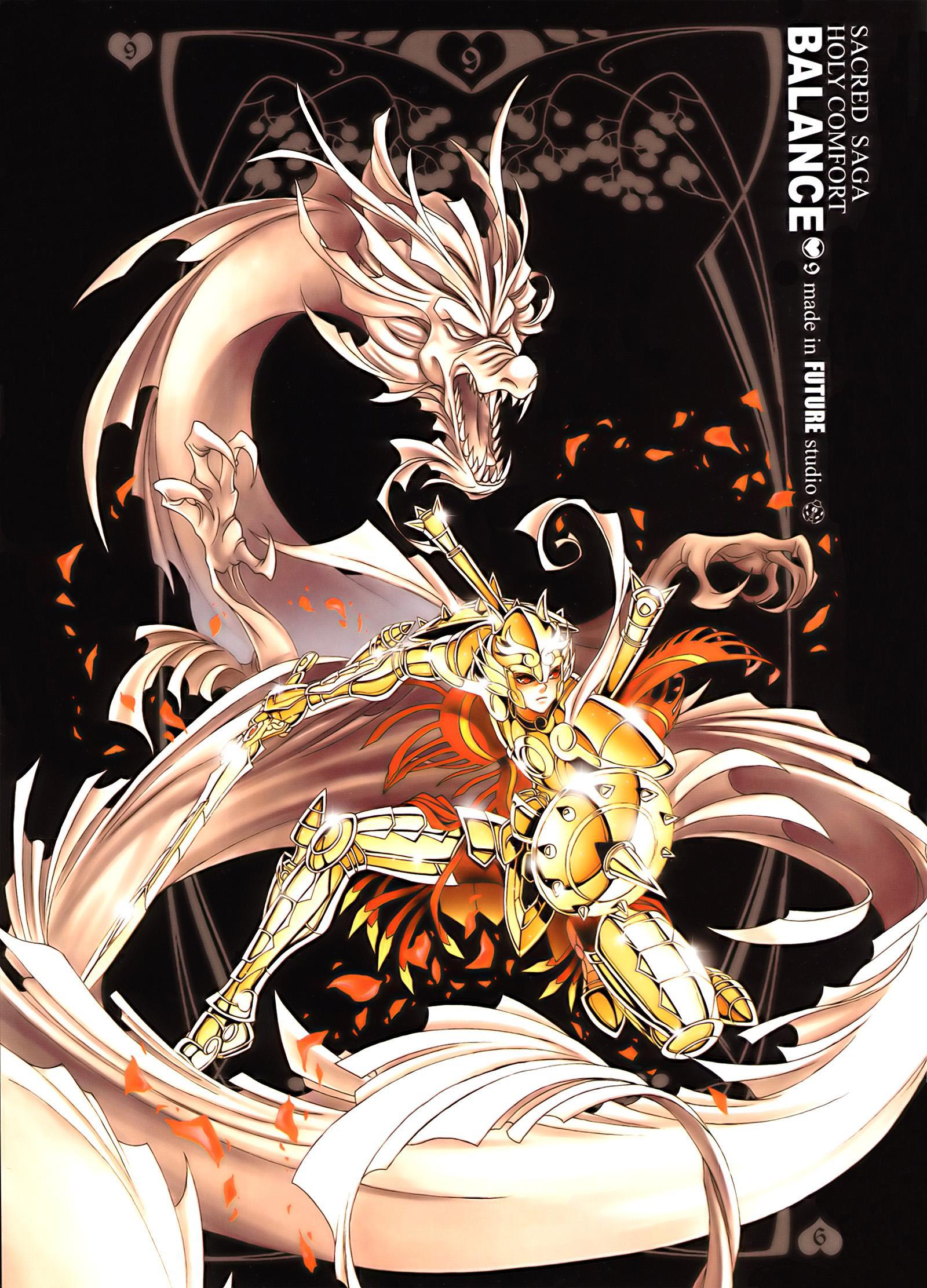 Download Saint Seiya: Libra Dauko (1600x2223) - Minitokyo