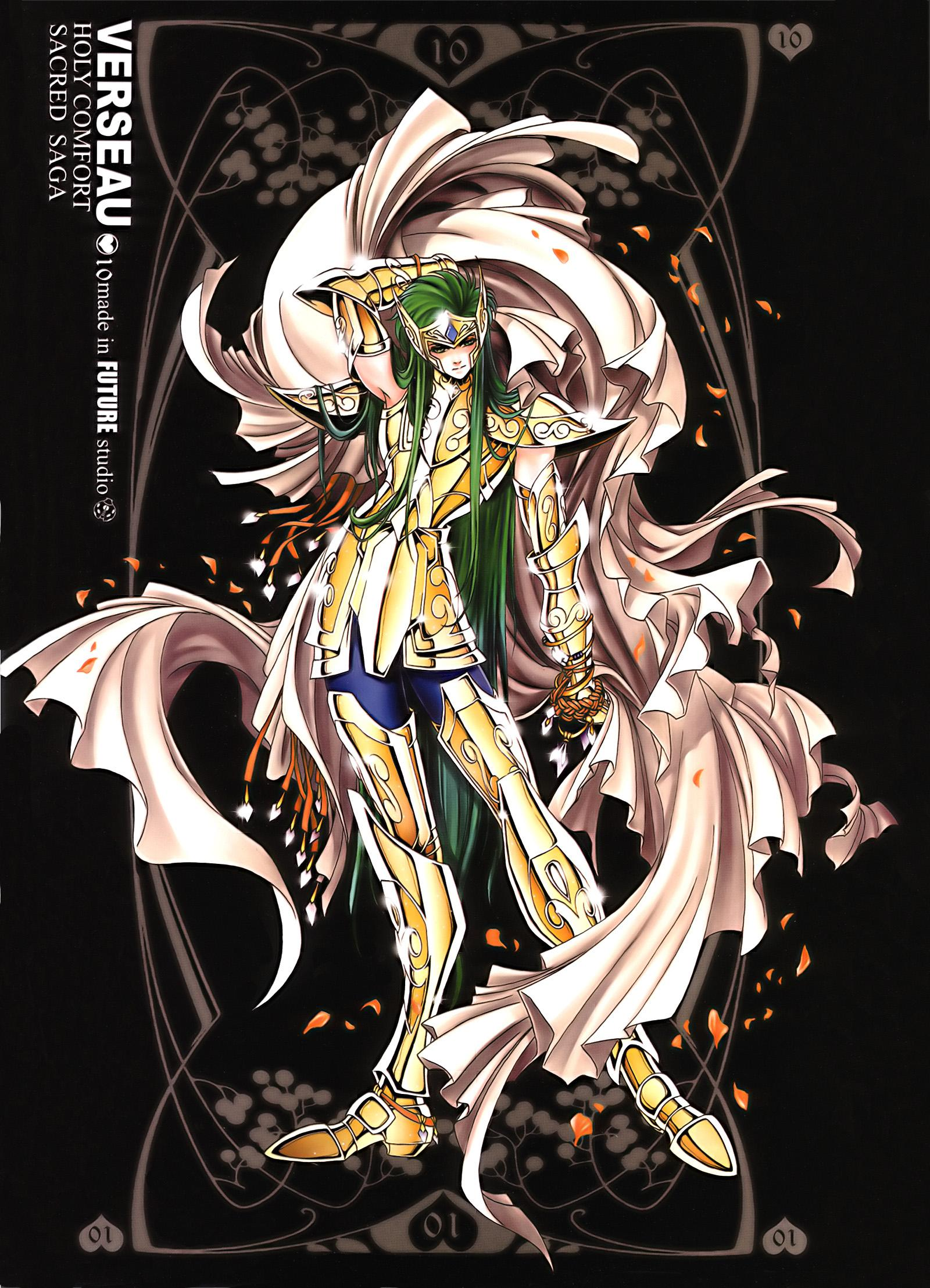 Download Saint Seiya: Aquarius Camus (1600x2217) - Minitokyo