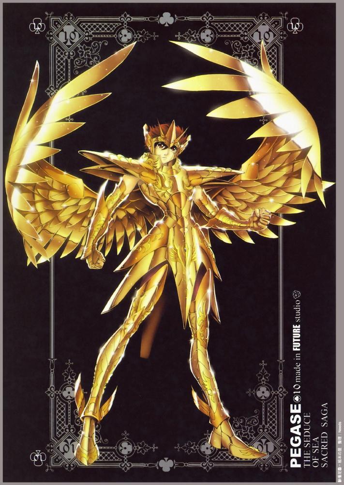 avenir studio de mâle Pegasus Seiya Saint Seiya