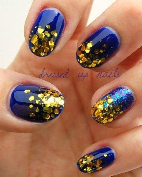 dressed up nail art - StyleCraze