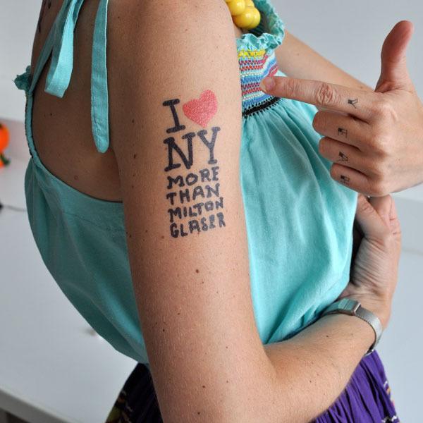 I tatuaggi? Firmati dai designer, temporanei e da comprare online | Design In&Out