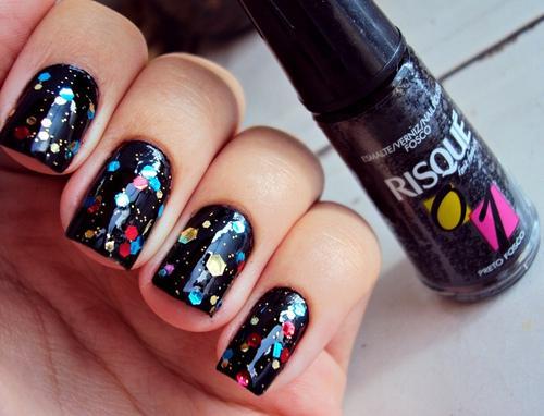 splended metal nail art - StyleCraze