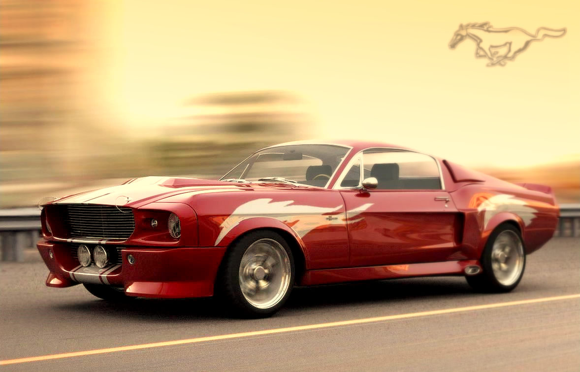 Most Muscled Car Shelby Mustang 1967 | Managed Speed