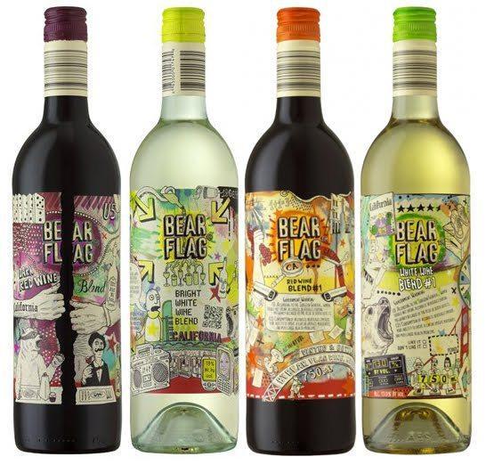 40 Creative Wine Label Designs Inspirationfeed Com
