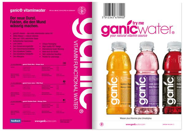 GANIC // sales folder