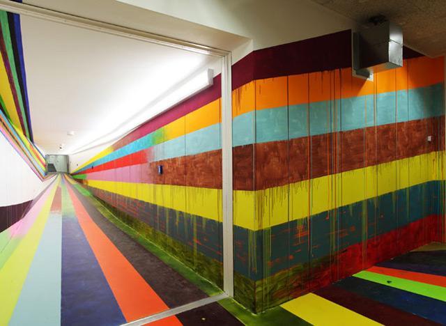 Visitors Tunnel at the JVA/Prison in Düsseldorf by Markus Linnenbrink   Colossal