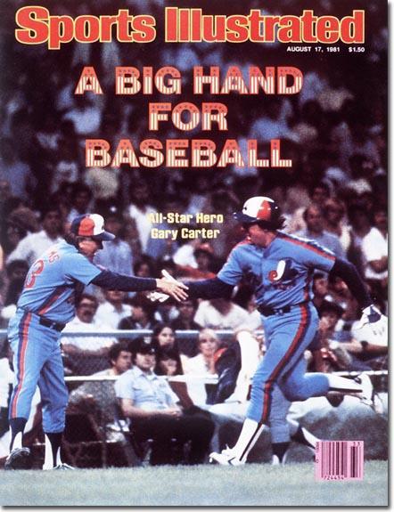 Gary Carter, Baseball, Montreal Expos - 08.17.81 - SI Vault