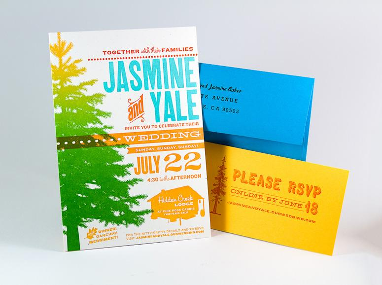 FPO: Jasmine & Yale Wedding Invitation