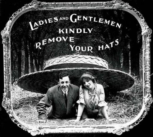 Silent Movie Etiquette, 1910s | Retronaut