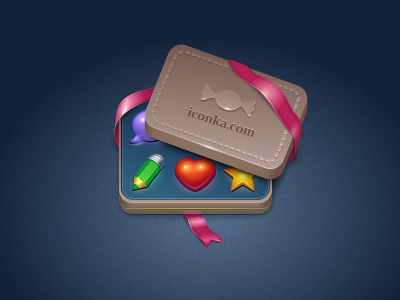 Iconka Candy Box by Iconka
