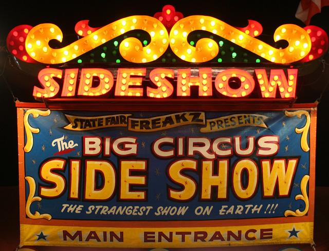 Big Circus Side Show | Flickr - Photo Sharing!