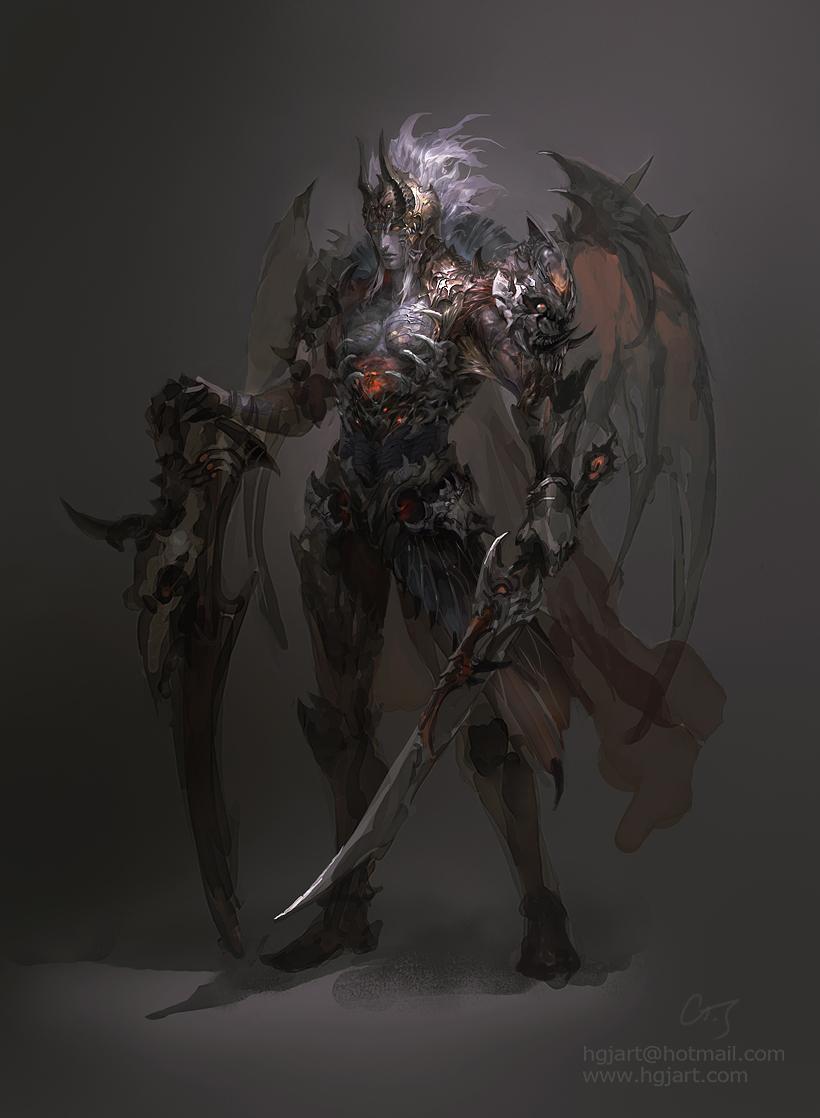 Impressive Character Design by Guangjian Huang | Daily Inspiration