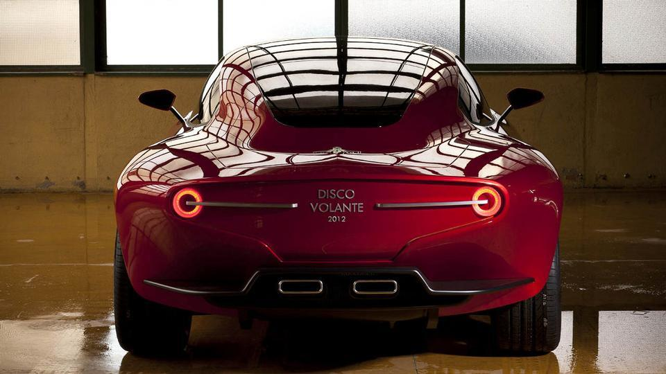 Touring Superleggera Disco Volante 2012 Prevista una piccola serie [video] - Gallery - Quattroruote