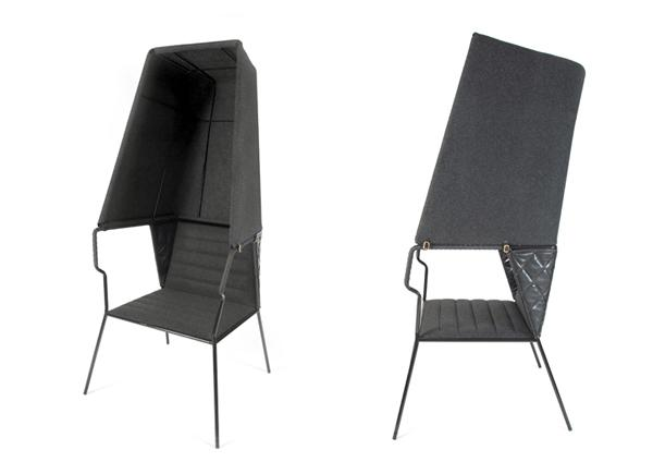 Booth - Lounge Chair by ADDI AB » Yanko Design