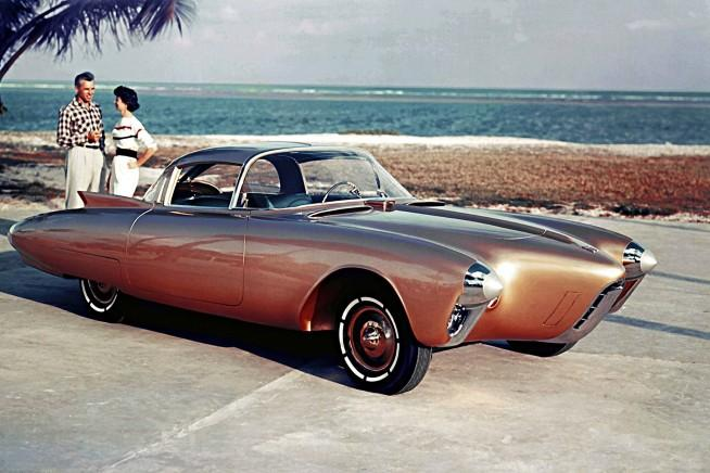 1956 Oldsmobile Golden Rocket Dream Car Concept Pictures, Wallpapers - Boldride.com