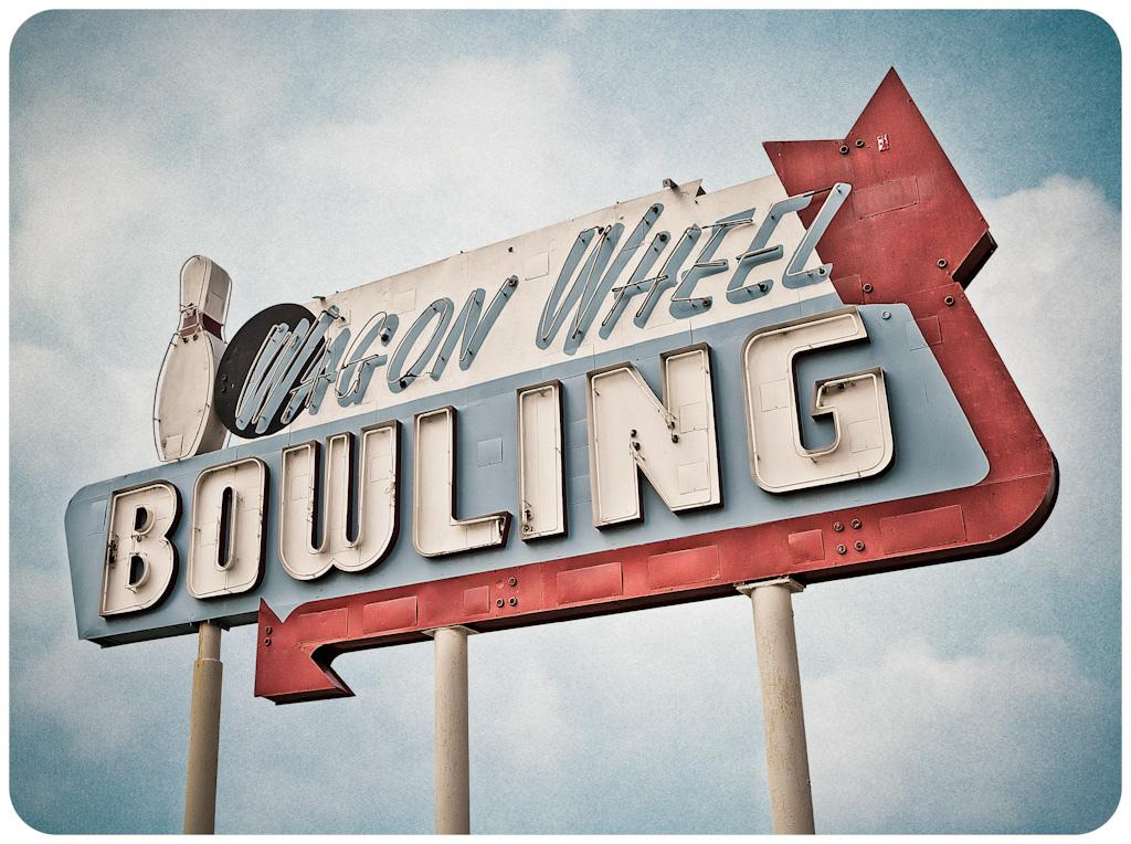 Wagon Wheel Bowling | Flickr - Photo Sharing!