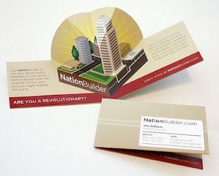 Pubblicità, grafica ed arti visive: Fantasia di biglietti da visita (parte 6)